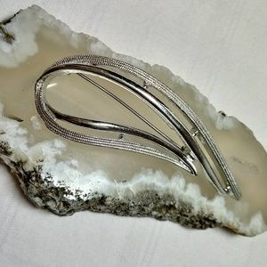 Sarah Coventry Vintage Silver Brooch